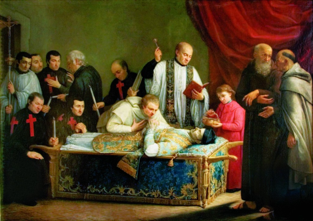The Transit the last Days on Earth of St. Camillus de Lellis