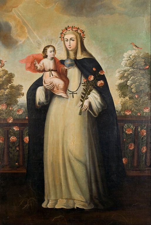514px-Anonymous_Cusco_School_-_Saint_Rose_of_Lima_with_Child_Jesus_-_Google_Art_Project