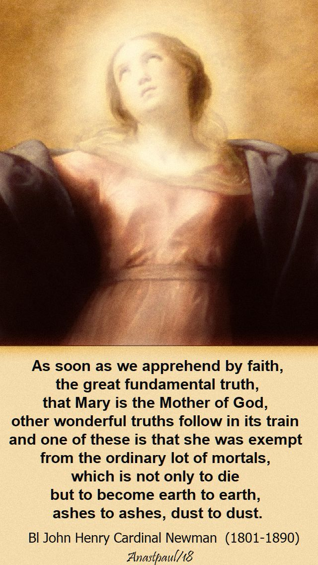 as soon as we apprehend by faith - bl john henry - 19 aug 2018