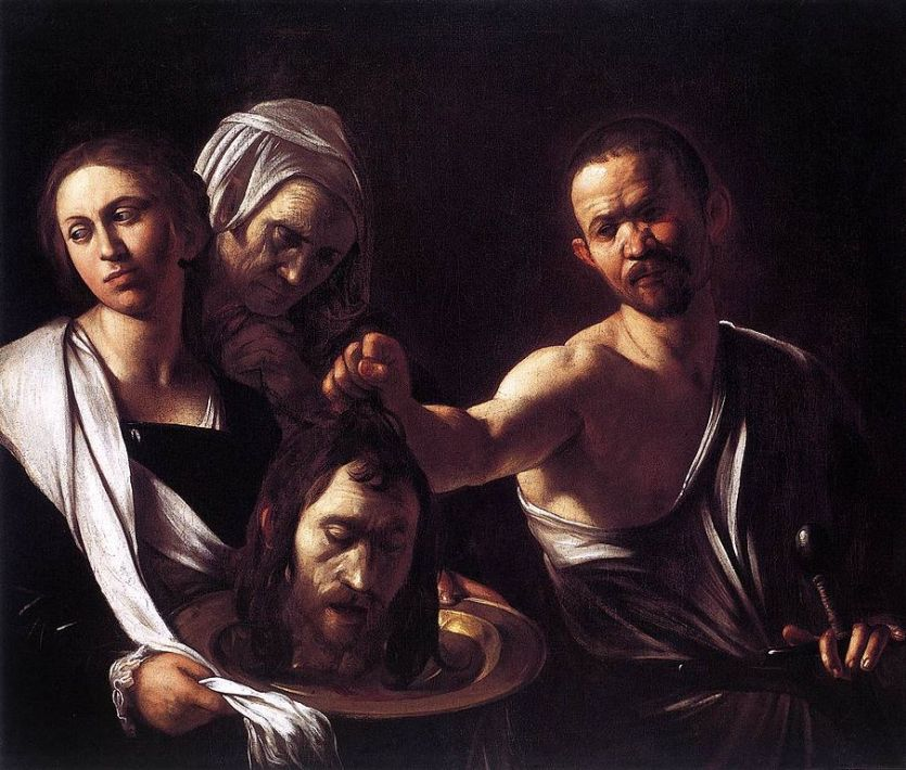 beheading-CaravaggioSalomeLondon