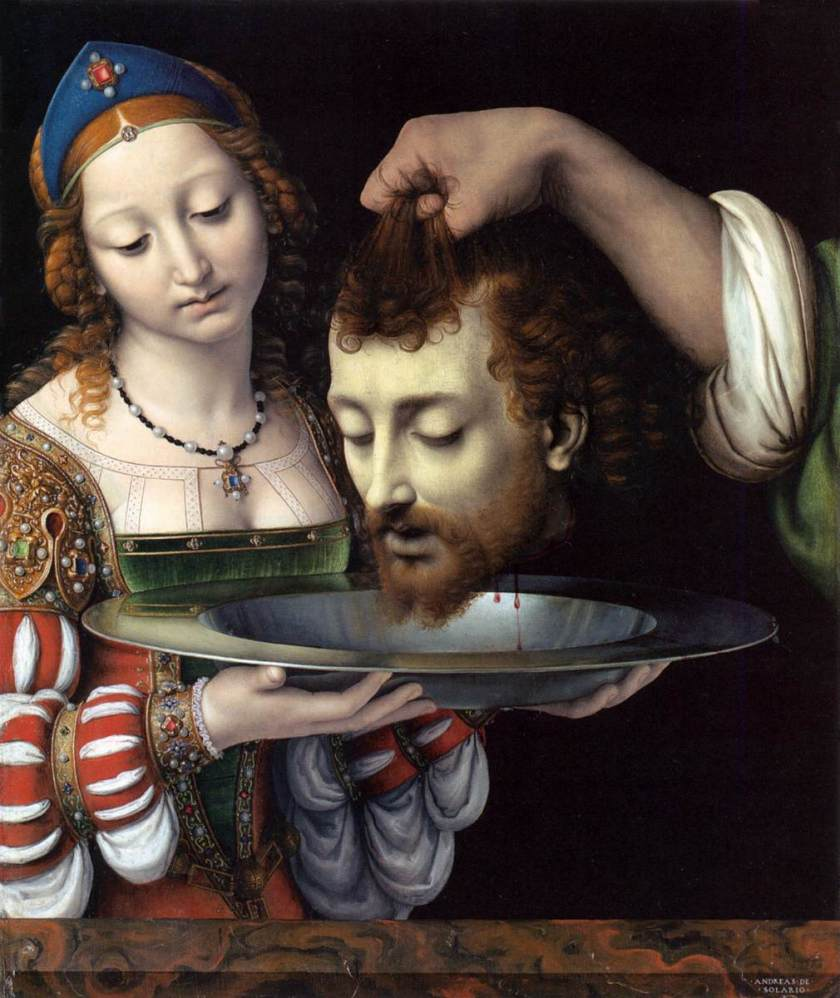 beheading Salome-with-the-head-of-St-john-the-Baptist