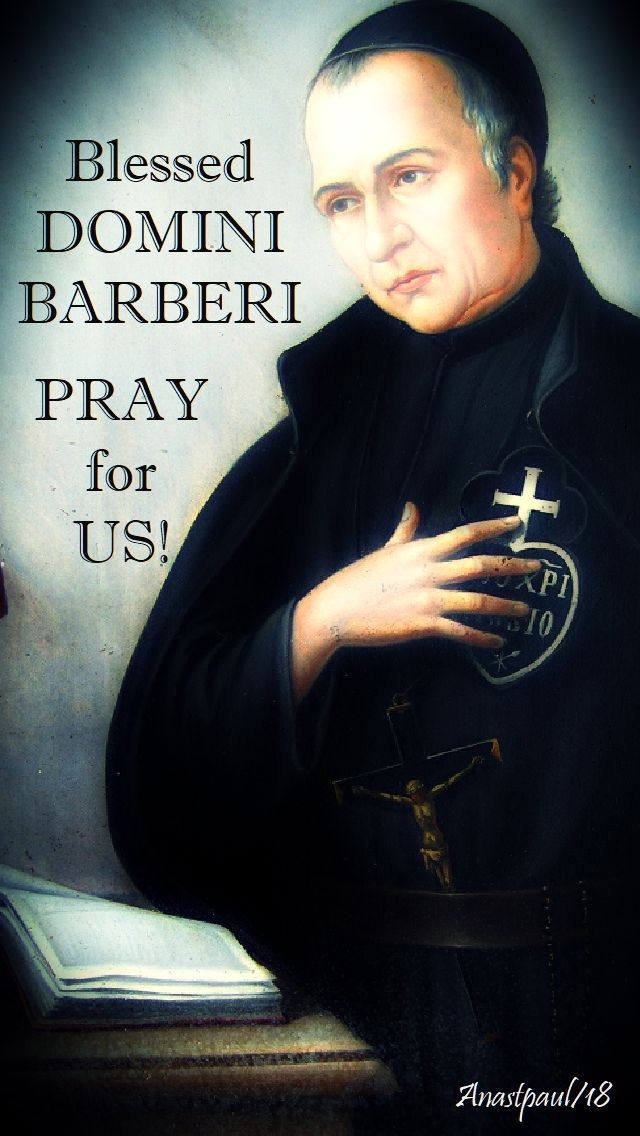 bl dominic barberi pray for us 27 aug 2018