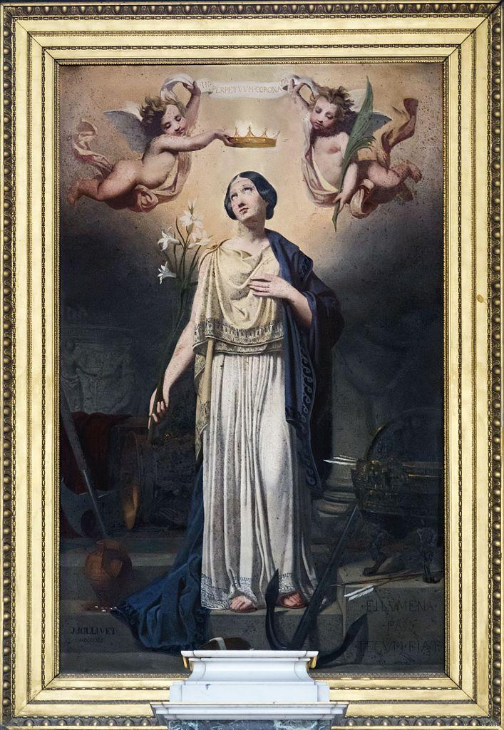 Cathédrale_Notre-Dame-de-l'Assomption_de_Montauban_-_Couronnement_de_sainte_Philomène_-_Jules_Jolivet_PM82000423