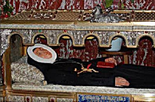 coffin - st maria