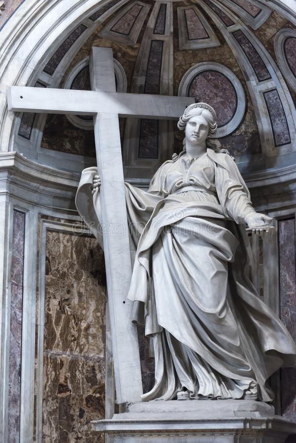 detail-st-peter-s-basilica-vatican-city-helena-mother-emperor-constantine-andrea-bolgi-inside-rome-italy-44742423