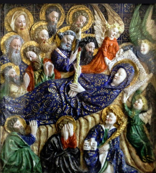 dormition of the virgin - lawrence op
