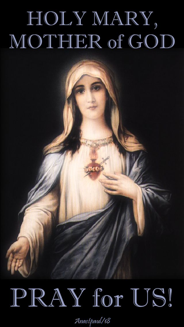 holy mary mother of god - pray for us - 13 may 2018