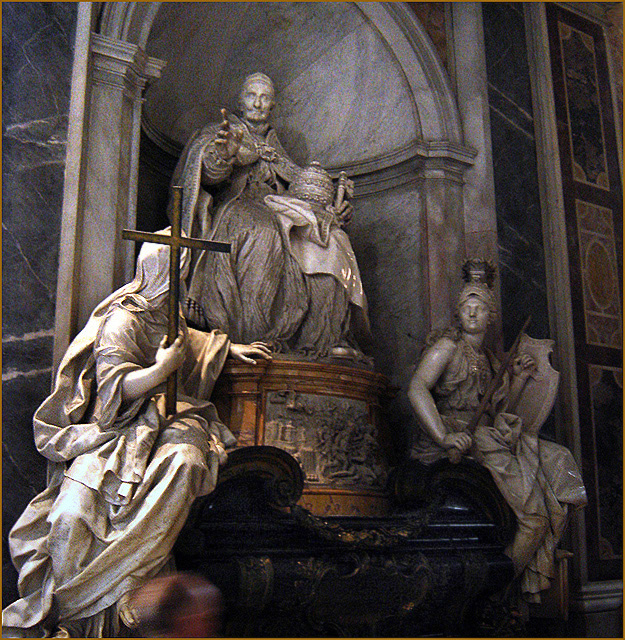 Monument to Pope Innocent XI, St. Peter's Basilica