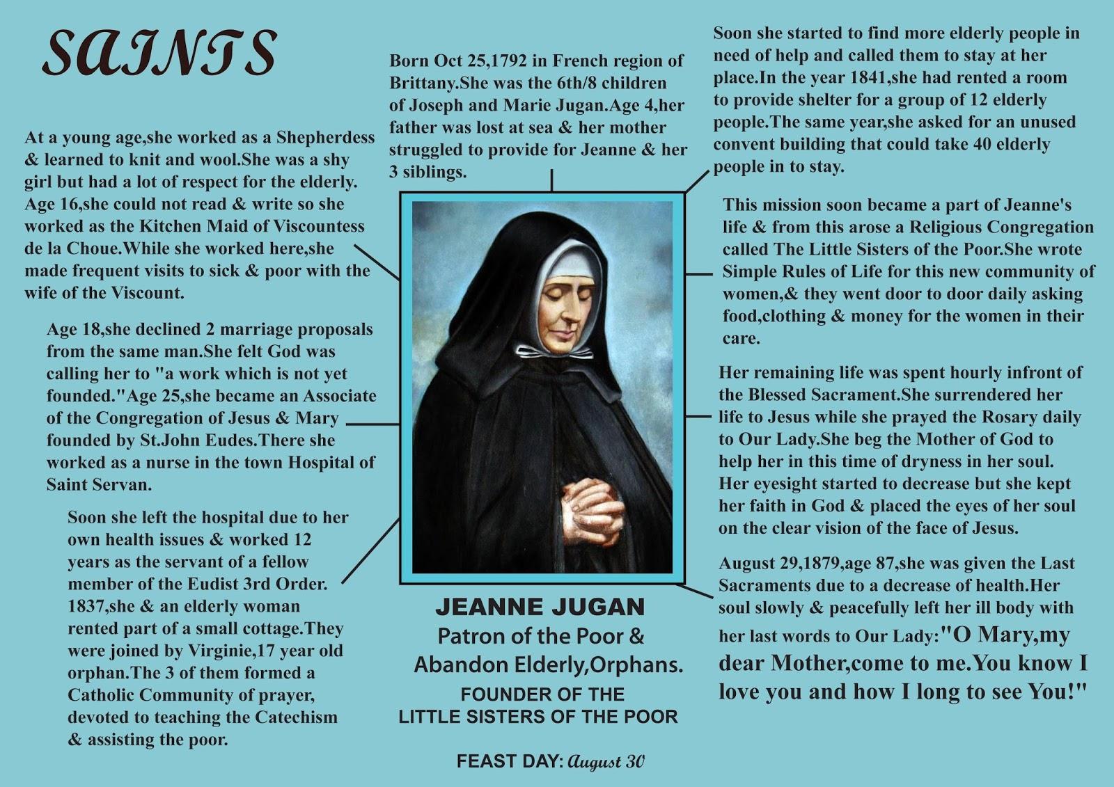 SAINT Jeanne jugani