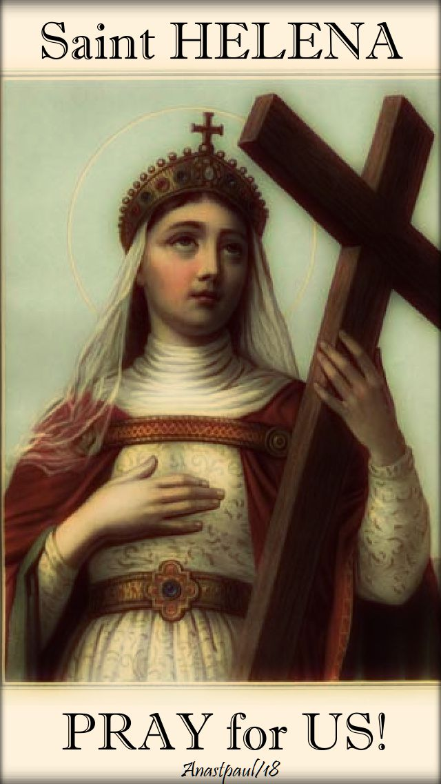 st helena pray for us - 18 aug 2018
