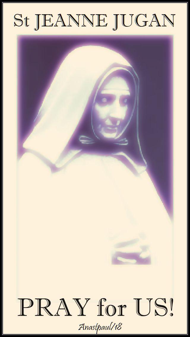 st jeanne jugan pray for us 30 aug 2018