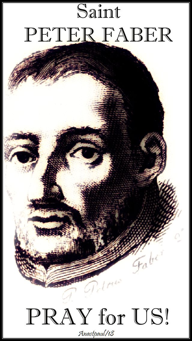 st peter faber pray for us - no 2 - 2 aug 2018