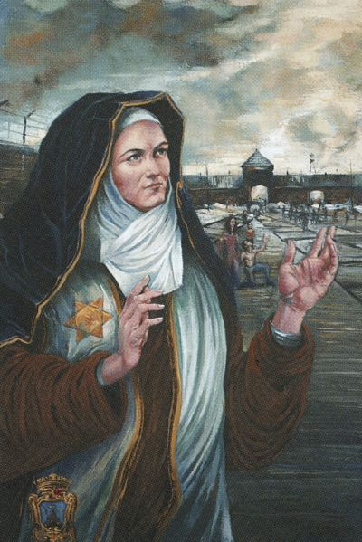 st teresa benedicta artwork