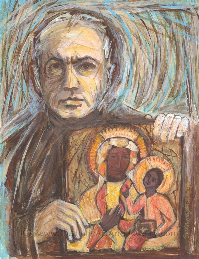 St_Maximilian_Kolbe_by_Sue_Kouma_Johnson_1024x1024