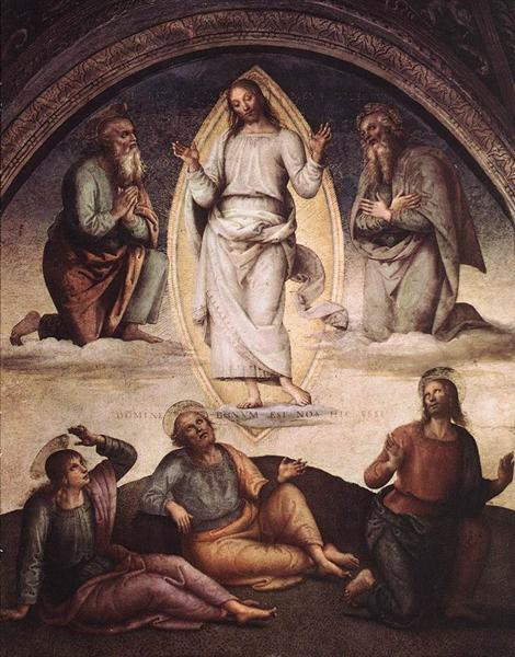 the-transfiguration.Pietro Perugino