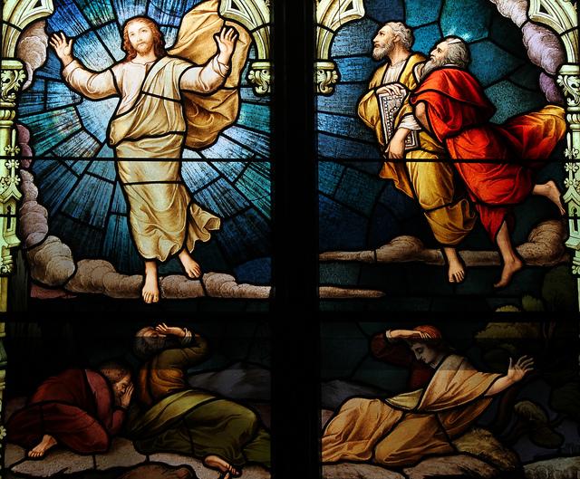 transfiguration in art
