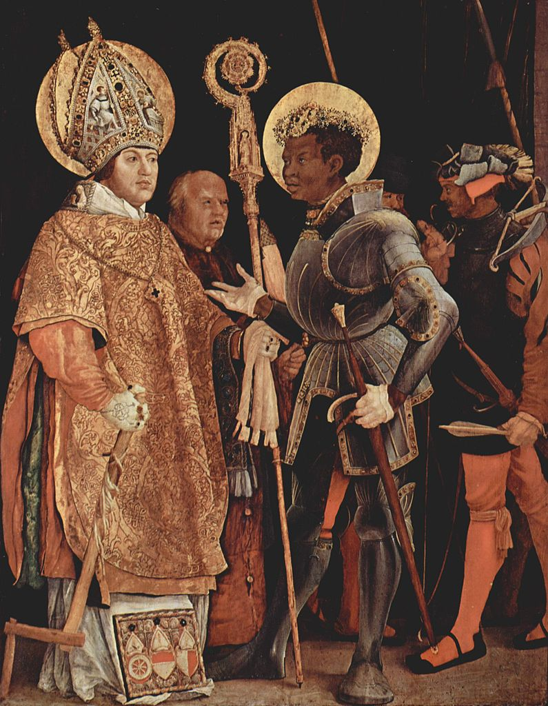 795px-Mathis_Gothart_Grünewald_Meeting of St Erasm and Saint Maurice.011