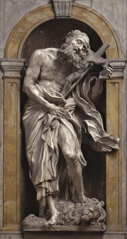 BERNINI'S ST JEROME IN THE VATICAN