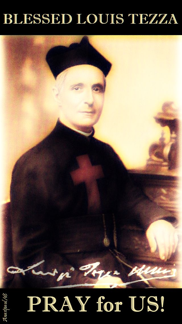 bl louis tezza pray for us - 26 sept 2018