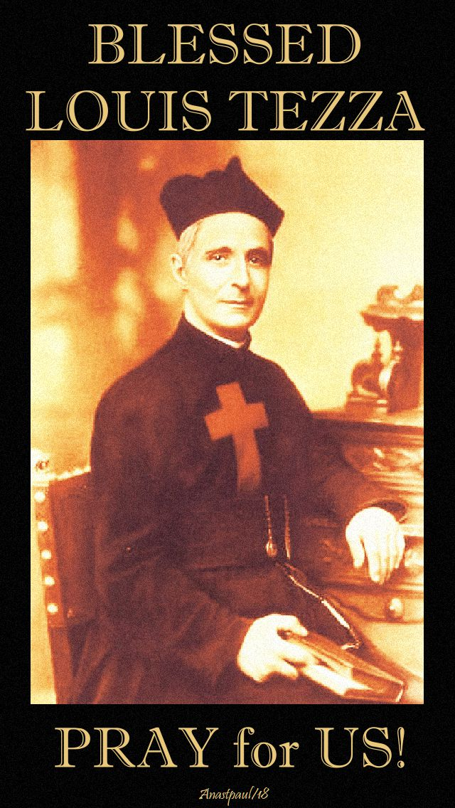 bl louis tezza pray for us - no 2 - 26 sept 2018