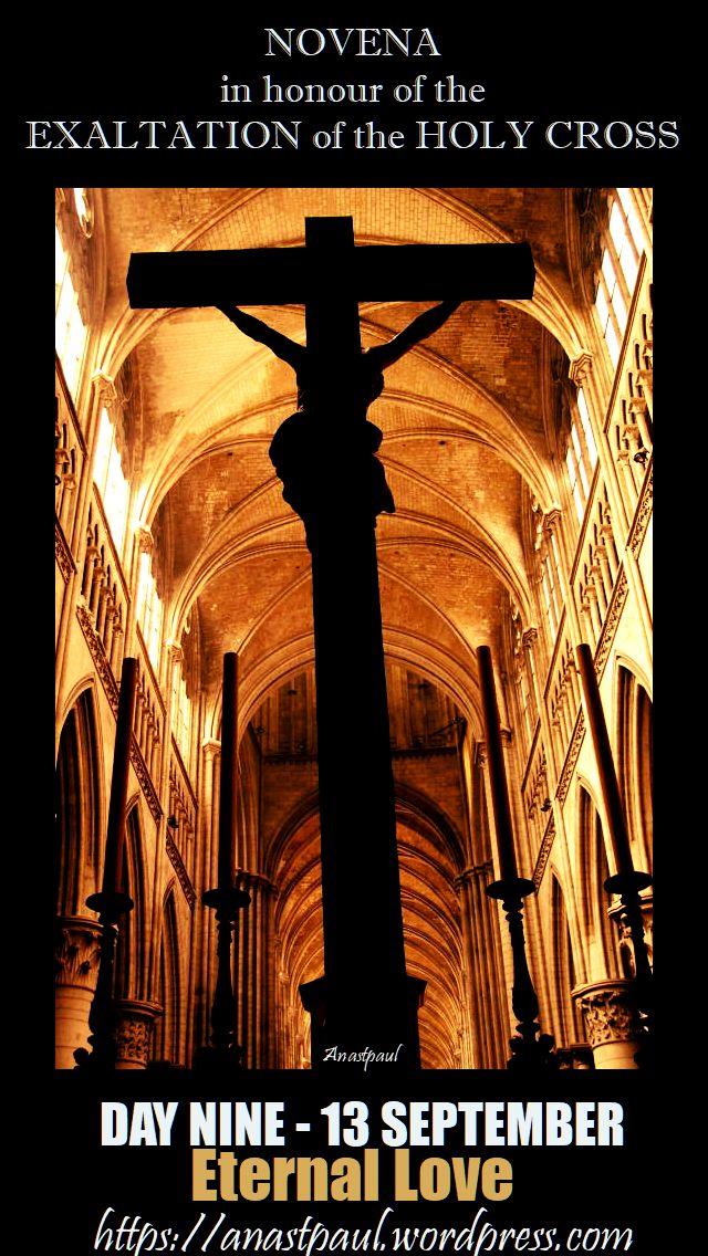 day-nine-novena-holy-cross-13-sept-eternal-love-13 sept 2017