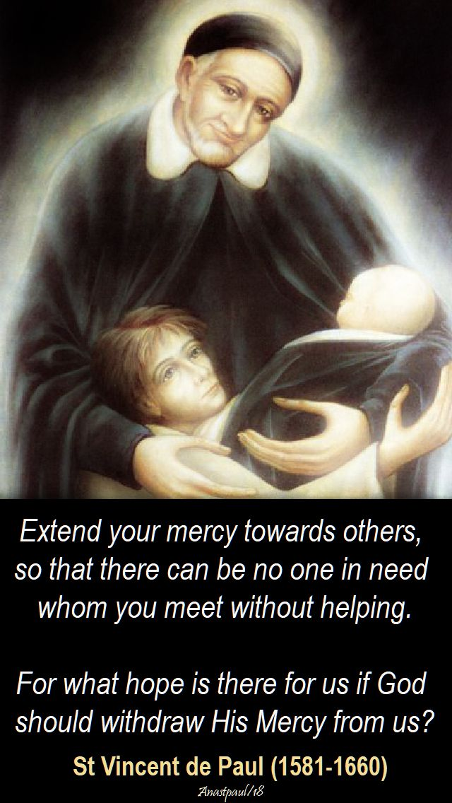 extend your mercy - st v de p - 27 sept 2018