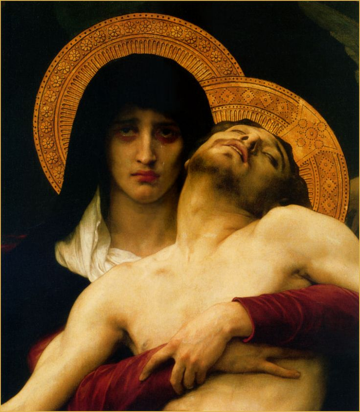 HEADER & WP ourlady of sorrows - bougeureau