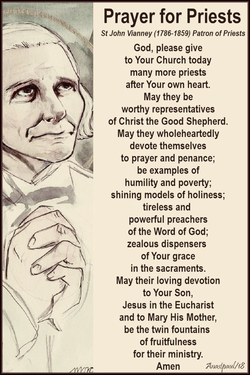 prayer-for-priests-by-st-john-vianney-no-3-18-july-2018-no 2. recoloured 2 sept 2018