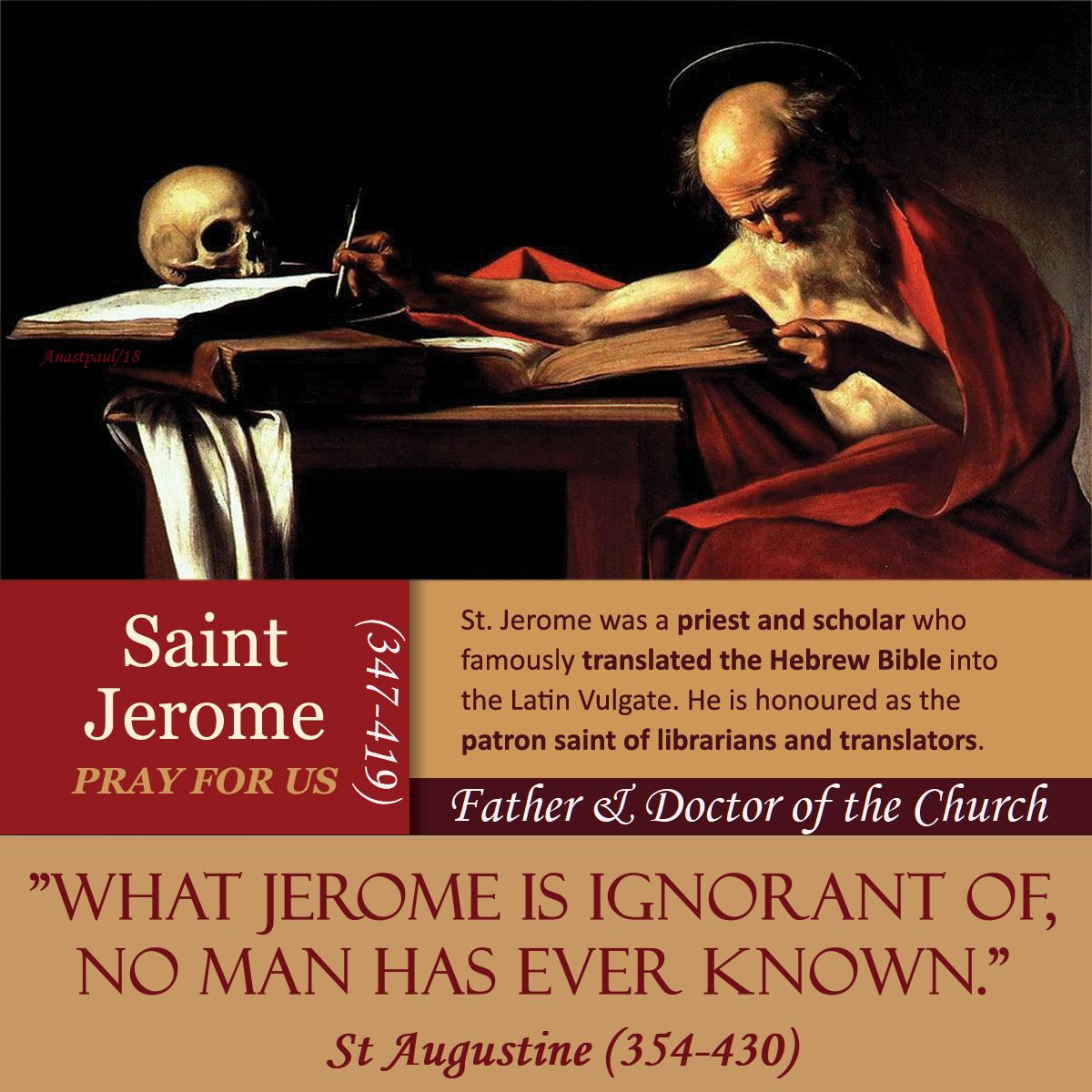 st jerome info - MY EDIT- 30 sept 2018