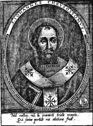 st john chrysostom - engraving