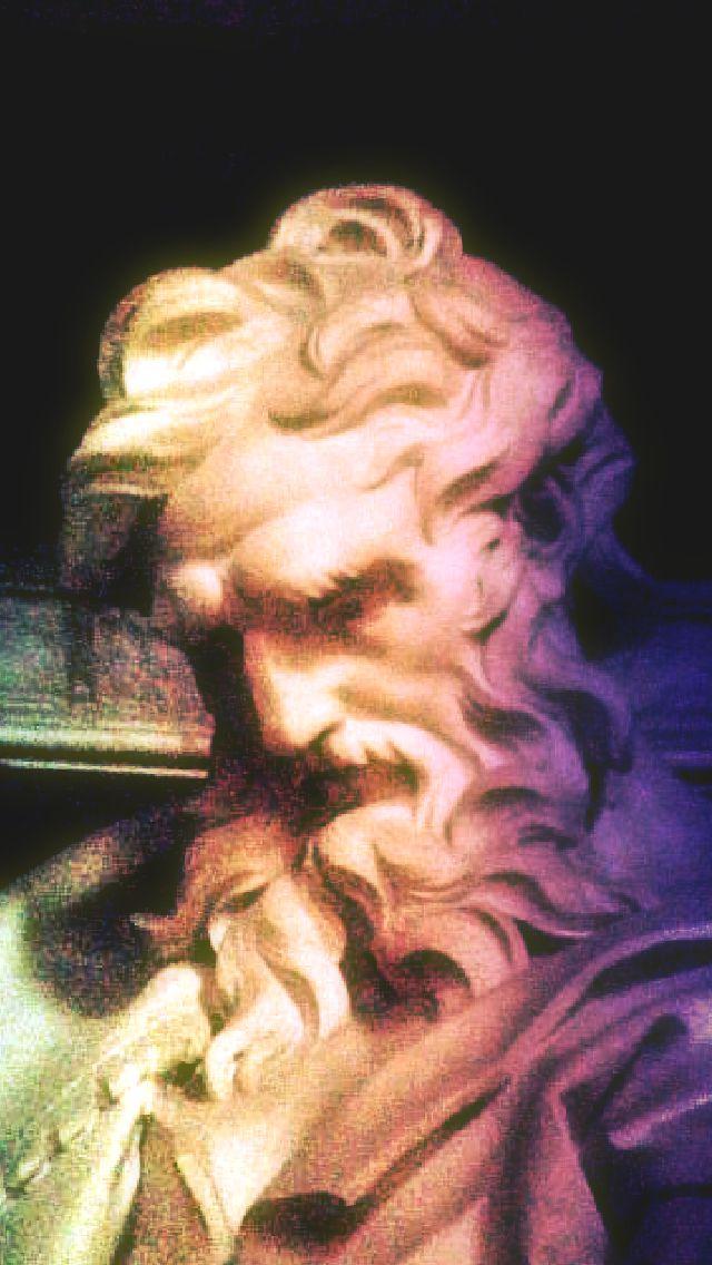 st matthew at st john lateran detail of face - 2 edit