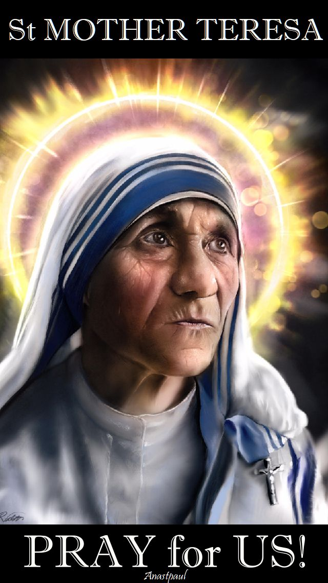 st mother teresa - pray for us.2