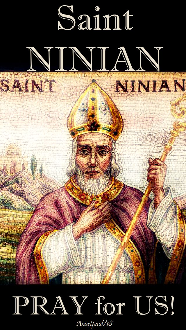 st ninian pray for us - 16 sept 2018