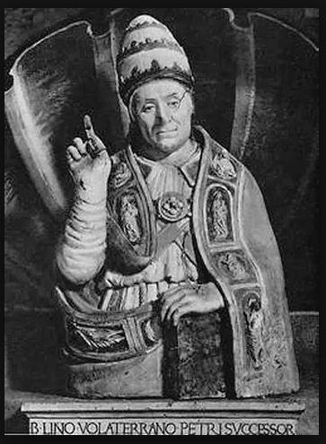 ST POPE LINUS SNIP