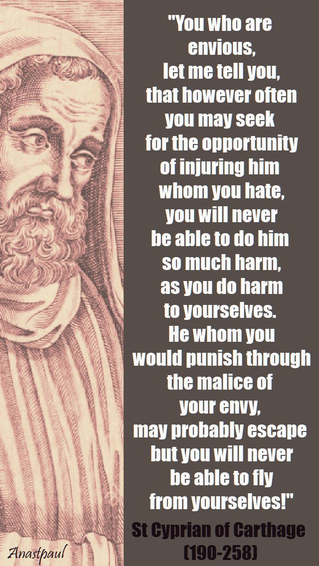 you-who-are-envious- st cyprian - 16 sept 2017