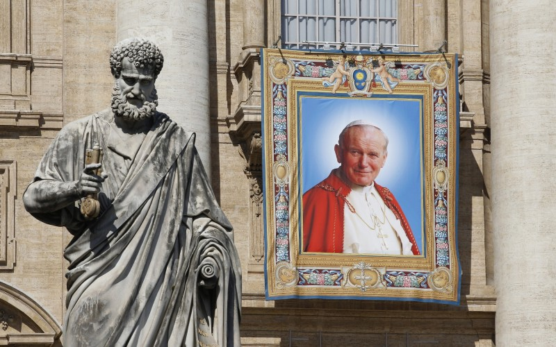 canonisation st john paul