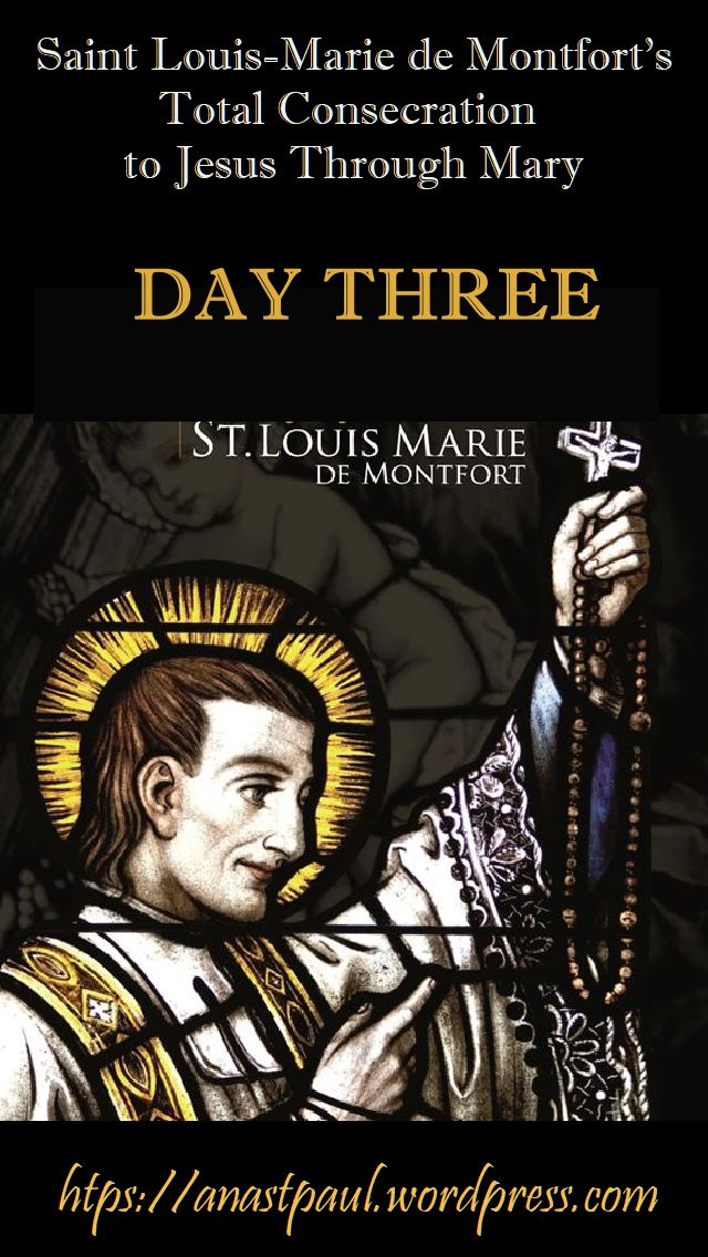 DAY TWO - TOTAL CONSECRATION - ST LOUIS DE MONTFORT 19 oct 2018