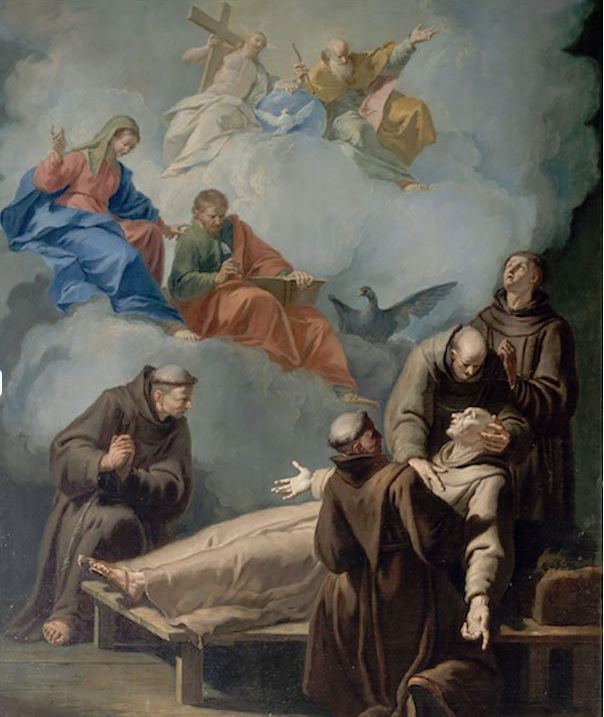 death of st peter alcantara
