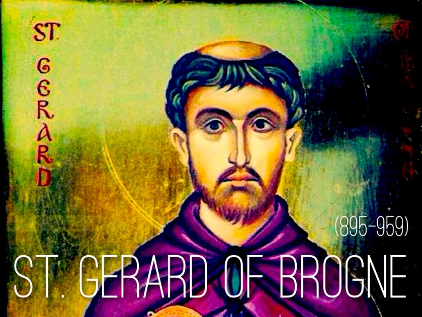 header st gerard of brogne