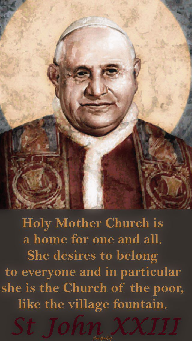 holy-mother-church-is-st-john-23-11-oct-2017