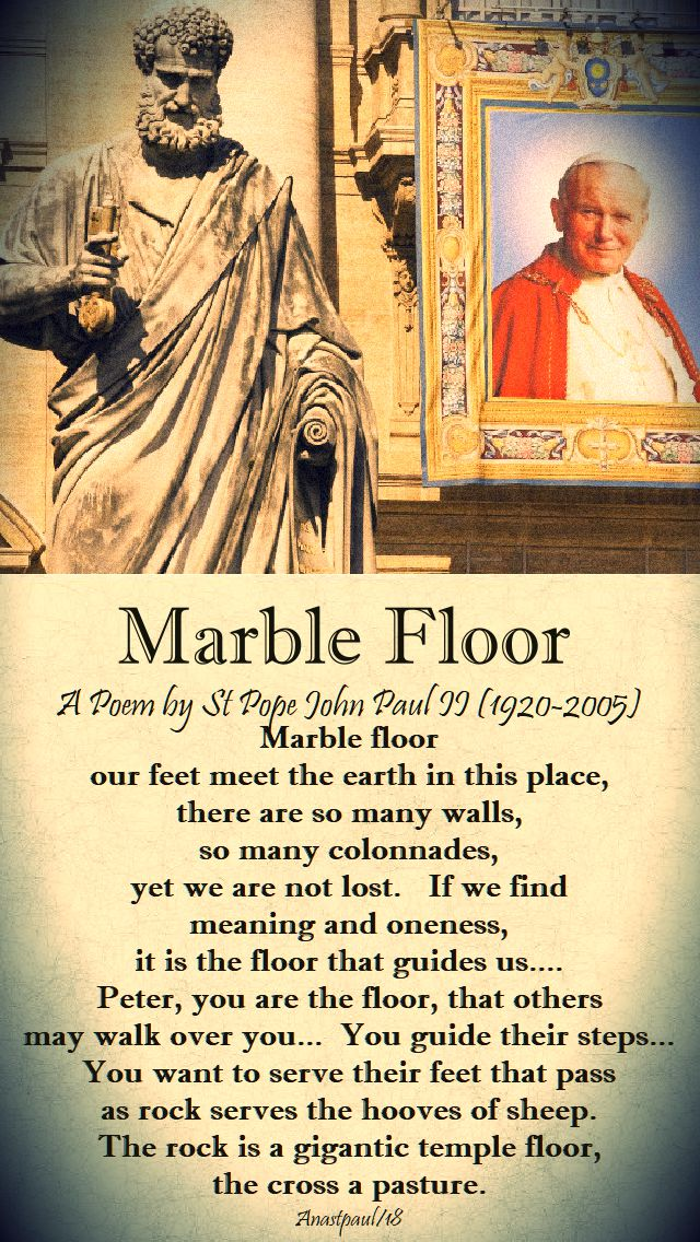 marble floor by st john paul - 22 oct 2018