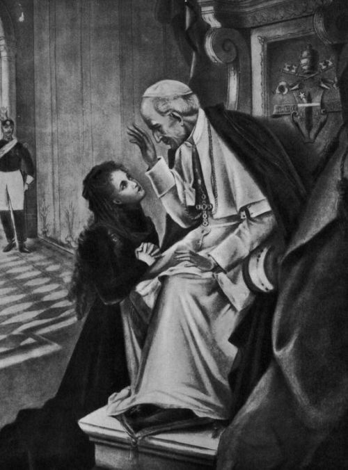 popeleo and st therese