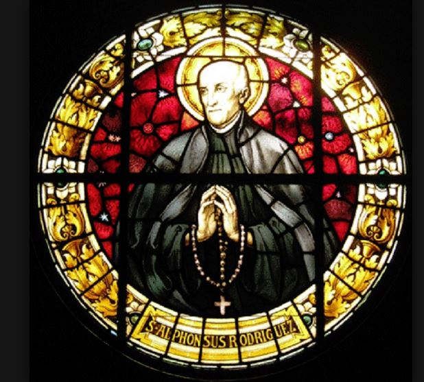 st alphonsus - glass