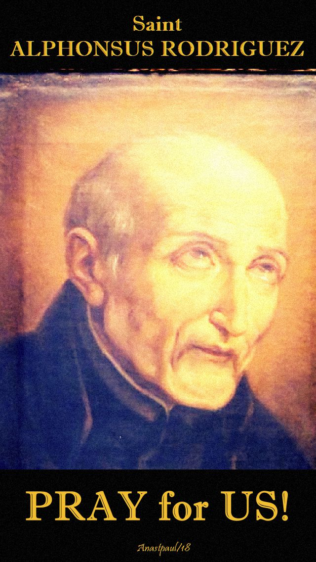st alphonsus rodriguez pray for us no 2- 31 oct 2018