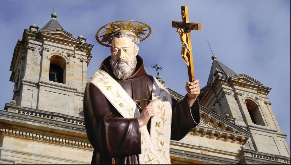 st angelo statue at acri basilica