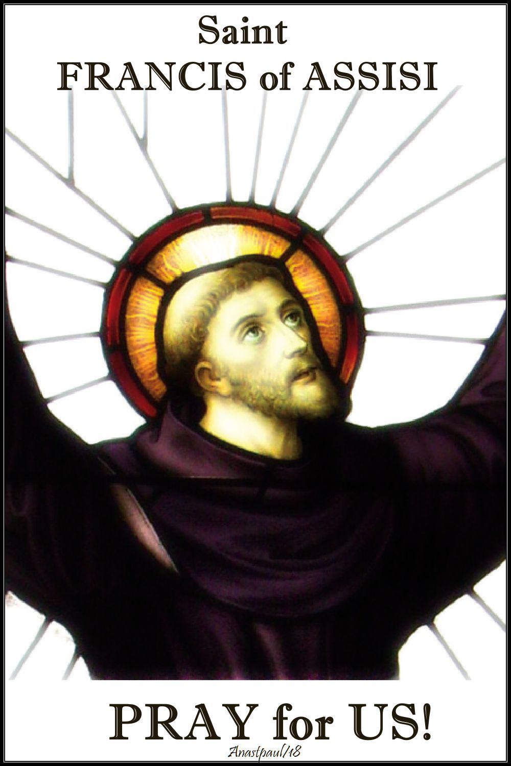st francis of assisi pray for us - 4 oct 2018