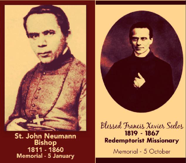 st john neumann and bl francis xavier seelos - 5 october 2018