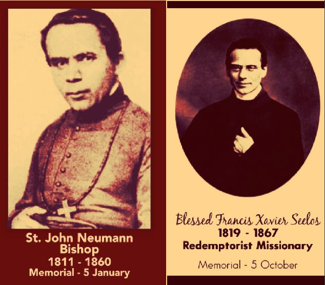 st john neumann and bl francis xavier seelos - 5 october 2018