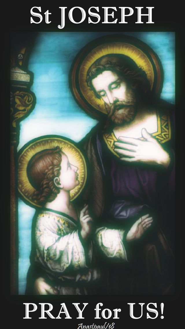 st joseph pray for us - 6 jan 2018