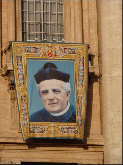 st luigi canonisation tapestry